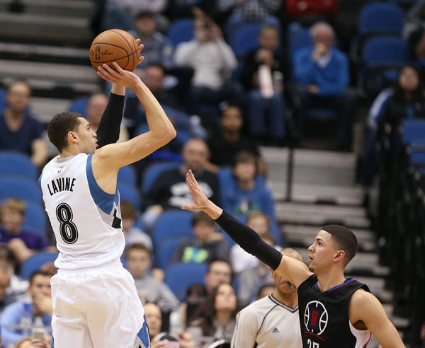 Zach LaVine, averaging 5.7 points in his past eight games, is hitting the gym hard, taking shot after shot in hopes of breaking out of his shooting sl
