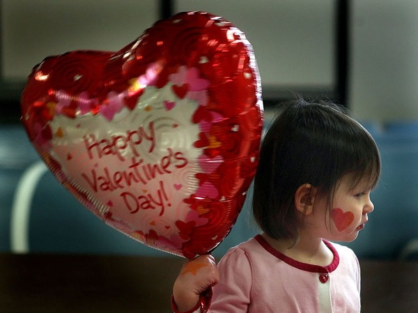 A Valentine Day's party at a Minneapolis park in 2009. Across the metro area and the country, schools are juggling sensitivity with holiday fun as stu