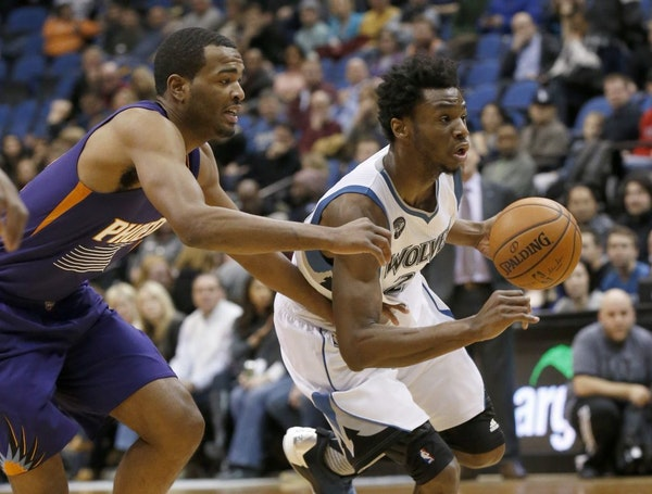 Wolves guard/forward Andrew Wiggins has been the team's leading scorer the past six games, averaging 24.8 points and shooting 50.9 percent in that s