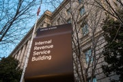 The Internal Revenue Service (IRS) headquarters building in Washington.
