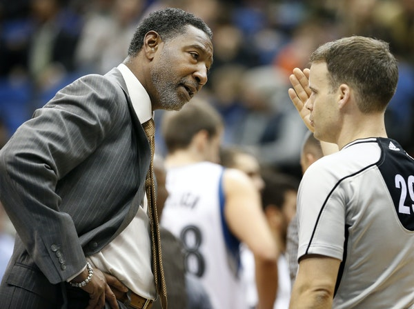 As the Wolves keep losing, interim head coach Sam Mitchell said he knows the criticism of him will increase, but he's not changing.