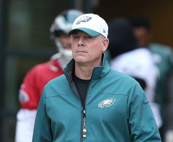 New Vikings tight ends coach Pat Shurmur