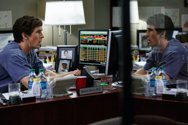 """Christian Bale plays one of a handful of people betting against the housing sector in """"The Big Short."""" In reality, there were more, but for most p"""
