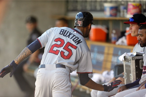 Minnesota Twins' Byron Buxton