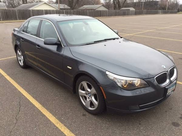 This black 2008 BMW 535 was the subject of a Craigslist gone bad.