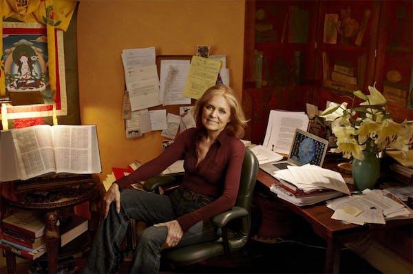 Gloria Steinem Photo by Annie Leibovitz