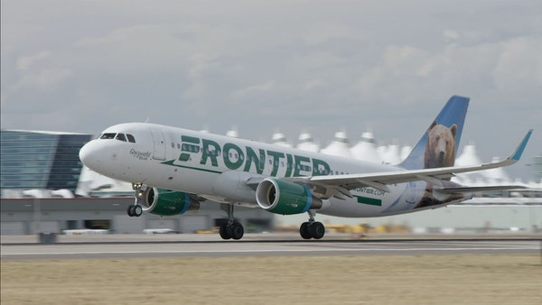 Frontier Airlines will begin nonstop service from the Twin Cities to Chicago on April 15.