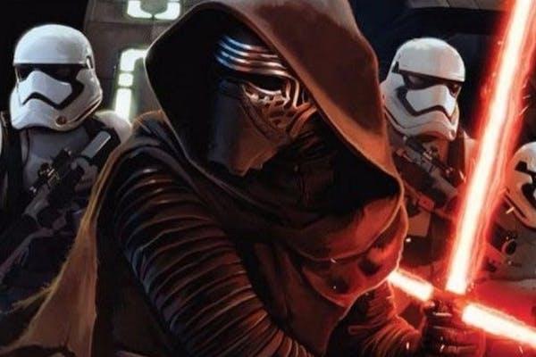 "Kylo Ren is the new villain in ""Star Wars: The Force Awakens."""