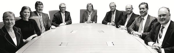 Star Tribune's annual investors' roundtable includes Erica Bergsland, Advantus Capital; Mark Henneman, Mairs & Power; Craig Johnson, Piper Jaffray; Da
