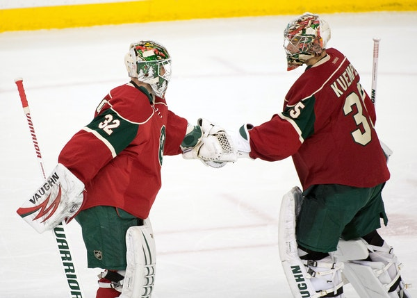 Wild goalies Darcy Kuemper and Niklas Backstrom are doing their best to stay sharp, but they recognize Devan Dubnyk is on a roll.