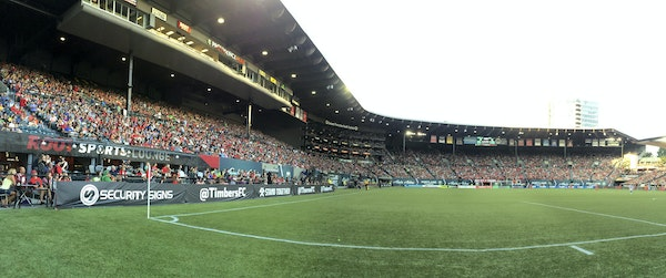 Portland's Providence Park, once upon a time a home for the Twins' Class AAA team, was heavily renovated in 2010 to become an MLS stadium.