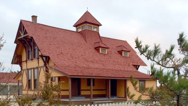The Indian River Life-Saving Station, restored to look as it did in 1905, hosts tours and re-enactments in Rehoboth Beach, Del.