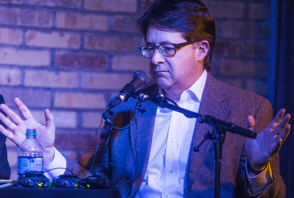 Later Wednesday, defense attorney Dean Strang spoke to a crowd at Sisyphus Brewing in Minneapolis.