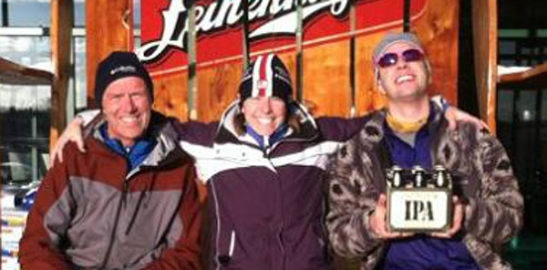 Kevin, Sarah and Jake Panzer relished last year's Birkie.