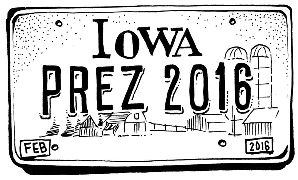 After months of speeches, millions of dollars, hundreds of promises and endless speculation, Iowa on Monday begins the actual voting.