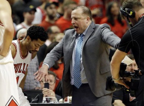 Report of contact between Wolves, Tom Thibodeau has interesting nugget