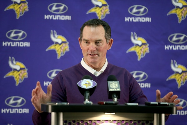 Vikings coach Mike Zimmer
