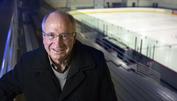 Long before becoming Gophers hockey coach (1985-99), Doug Woog starred and coached at South St. Paul. Wakota Arena is being renamed after him.