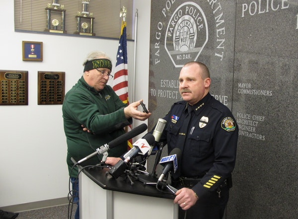 Fargo Police Chief Dave Todd discusses the Wednesday shooting of one of his police officers.