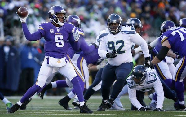 Going into next season, the Vikings need to allow quarterback Teddy Bridgewater to take more chances downfield.