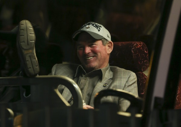 Donning an NFC North champions hat and waiting on the team bus, coach Mike Zimmer allowed himself some time to revel in the Vikings' accomplishment.