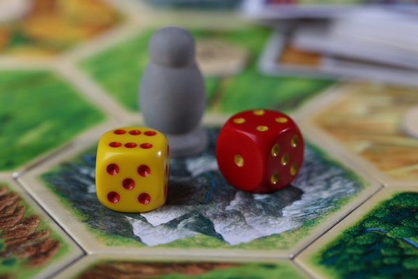 Catan is a popular board game.