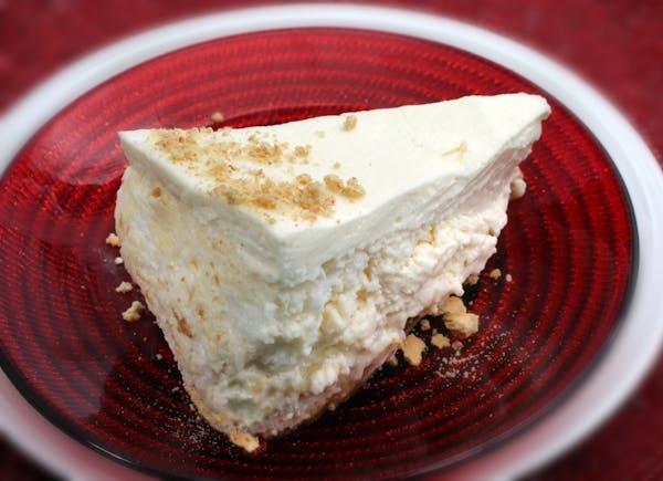"Kilimanjaro cheesecake from ""The Joy of Cheesecake."""