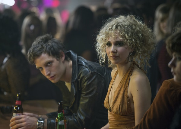 """James Jagger and Juno Temple in """"Vinyl."""""""
