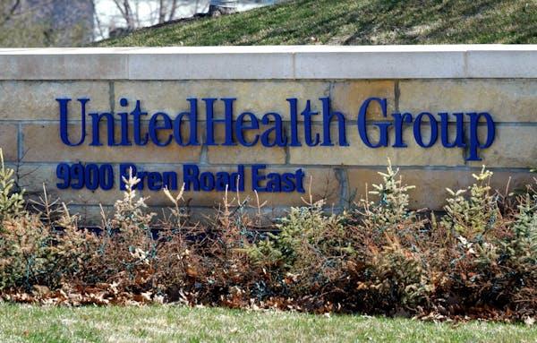 Headquarters of UnitedHealth Group Inc., in Minnetonka.