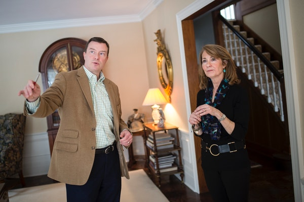 Real estate agent Chad Larsen talked with Kate Helms about preparing for the sale of her home in Edina. Pending sales for Twin Cities homes grew 3.5 p