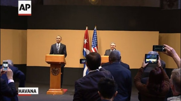 """Obama: 'This is a new day"""" in Cuban-US relations"""