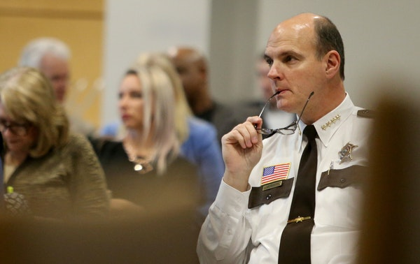 Hennepin County Sheriff Rich Stanek, shown in March at the State Capitol.