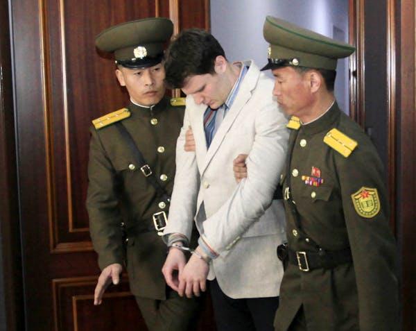 U.S. student gets 15 years in N. Korea prison