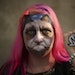 Bonnie Edwigenburg of Robbinsdale painted herself as Grumpy Cat for the 2013 Internet Cat Video Festival, held at the State Fair Grandstand.