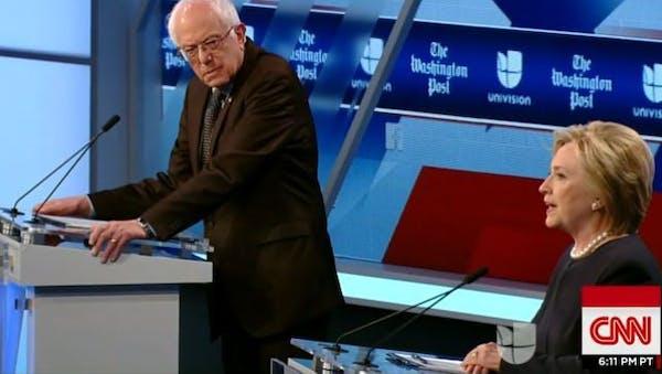 Clinton, Sanders fight for Hispanic votes