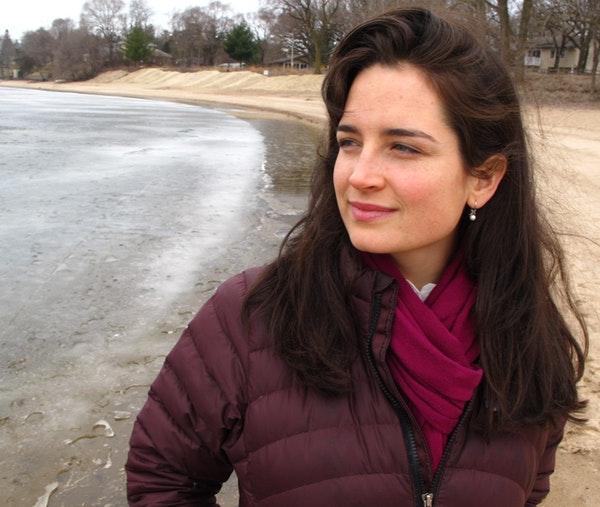 The St. Croix River Association's Natalie Warren works to inform the community of the river's governing laws.