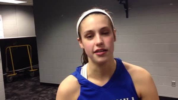 Hannah Hedstrom and Minnetonka roll to 71-41 victory