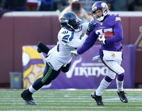 Vikings cornerback and special teams standout Marcus Sherels