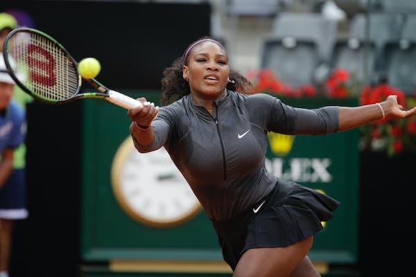 Serena Williams eats dog food, gets sick