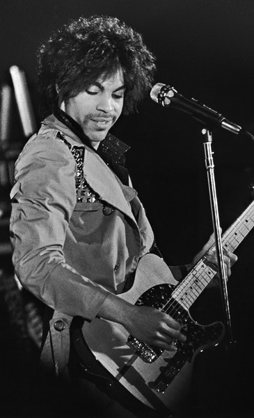 Prince in concert at Sam's, the venue which became First Avenue.