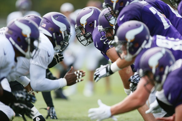 Depth charts can change as the Vikings work out during the offseason and at training camp.