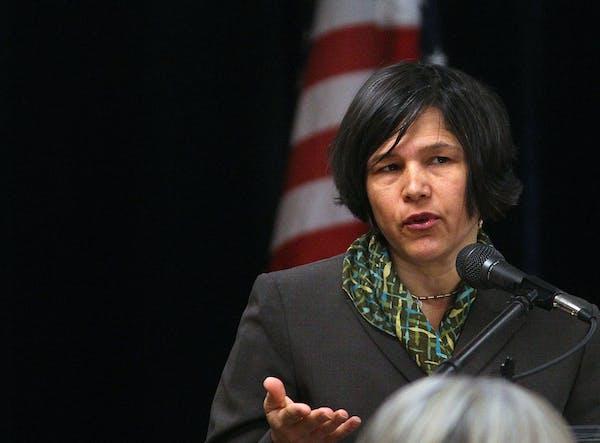 Minnesota Education Commissioner Brenda Cassellius credited the decrease in suspensions primarily to schools' use of Positive Behavioral Interventio
