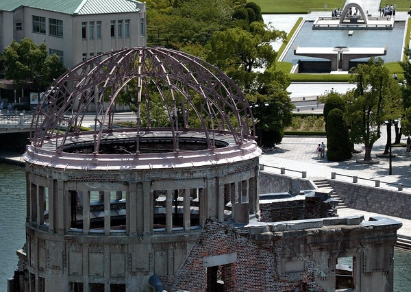When President Obama visits Hiroshima this month, he likely will see the iconic A-Bomb Dome in Peace Memorial Park, a UNESCO World Heritage Site.
