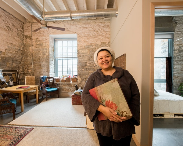 Jean Coleman's home will be open on April 30 and May 1 to show people the inside of the new A-Mill Artist Lofts.