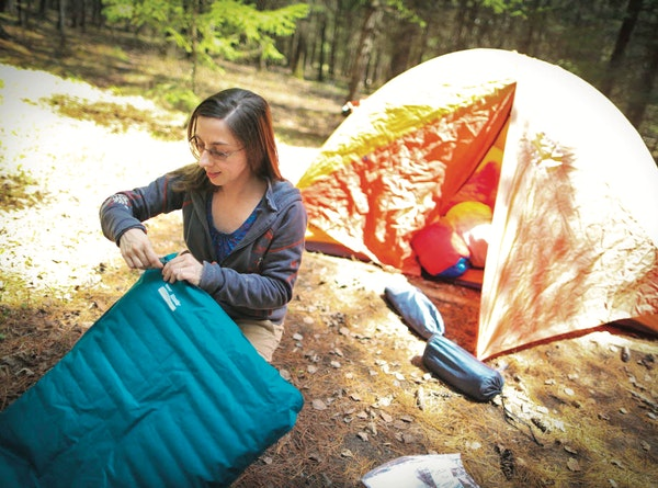 For campers like Suzanne Jost of Eden Prairie, who set up the tent for a family camping trip at Jay Cooke State Park in 2013, an online reservation sy