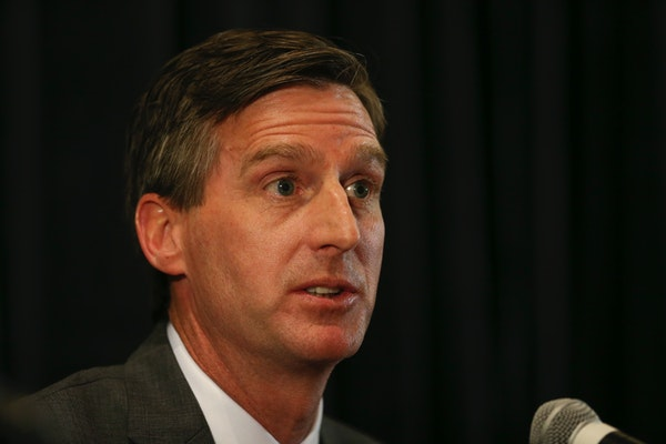 New Gophers athletic director Mark Coyle.