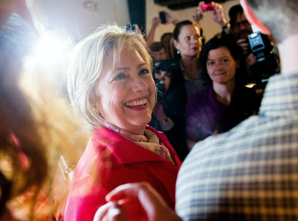 """Presumptive democratic nominee 2016 """"I wish [my mother] could have seen the America we're going to build. … An America where a father can tell h"""