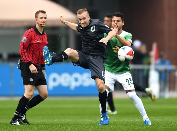 United FC midfielder Jamie Watson says a 4-0 loss to Miami earlier this month got his team realizing it had to play more of a grinding, defensive styl