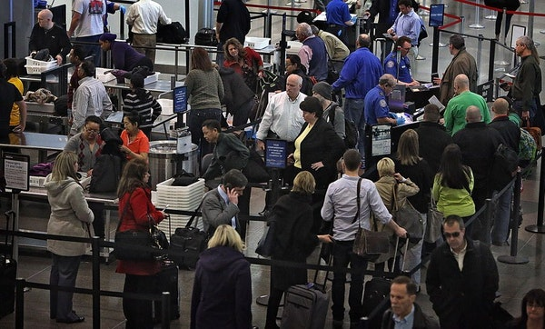 The current TSA security check area in Terminal 1 at MSP will soon be replaced by a new checkpoint that officials say will be easier on travelers.