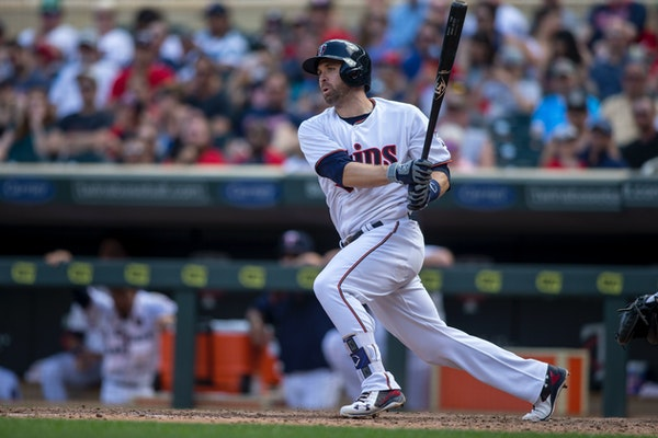 The Twins' Brian Dozier pulled 60.2 percent of his hits last season, tops in the league. Teams attacked that with shifts this season, and he struggled